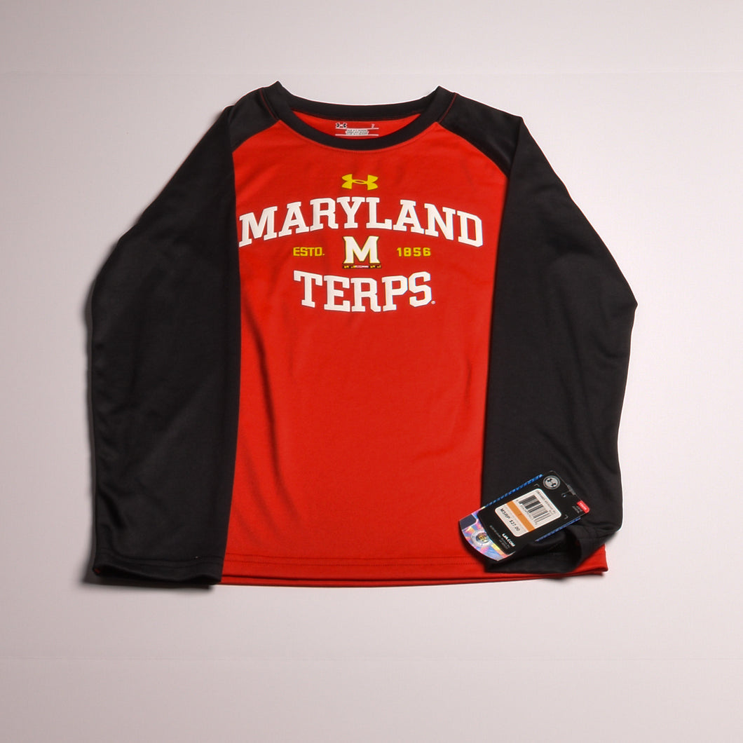 Under Armour boys top 7 Red/whte multi