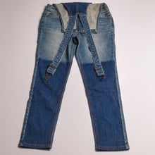 Load image into Gallery viewer, Girls Tommy Overalls _Jeans size 8/10