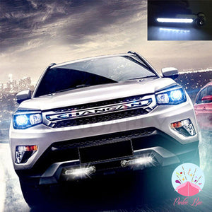 Wind-Powered LED Car Lights