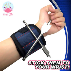 Magnetic Tool-Keeping Wristband