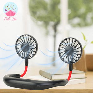 Hands-Free Cooling Neck Fan