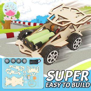 Technica DIY Motorized Sports Car