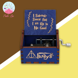 Harry's Muggle Wooden Music Box