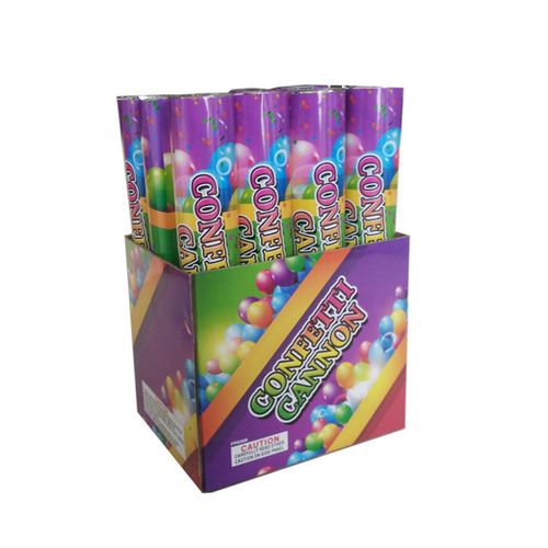 12 Inch Multi Color Confetti - 6 pack