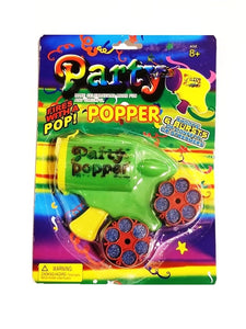 Party Popper Revolver And Refills