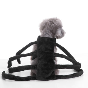 Pet Dogs Clothes Halloween Funny Spider Transfiguration Dog Cats Coats Dogs Jackets Sets Size S-L