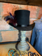 Custom designed and handcrafted Top Hat.  Made in the USA.