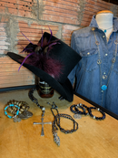 Purple Haze top hat for every style! The perfect accessory!