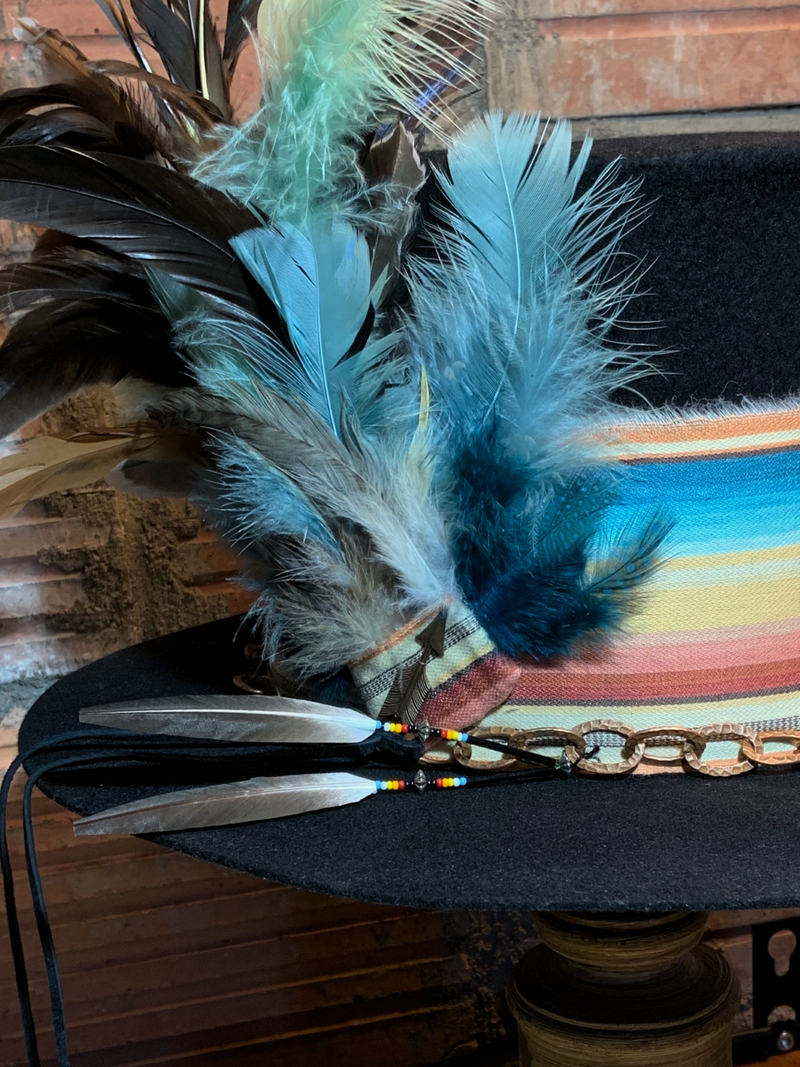 Wearable art and one of a kind.  That is a top hat!