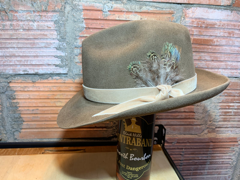Black Hills 605 Collection BB's Showtime Fedora Belly Hair Hat