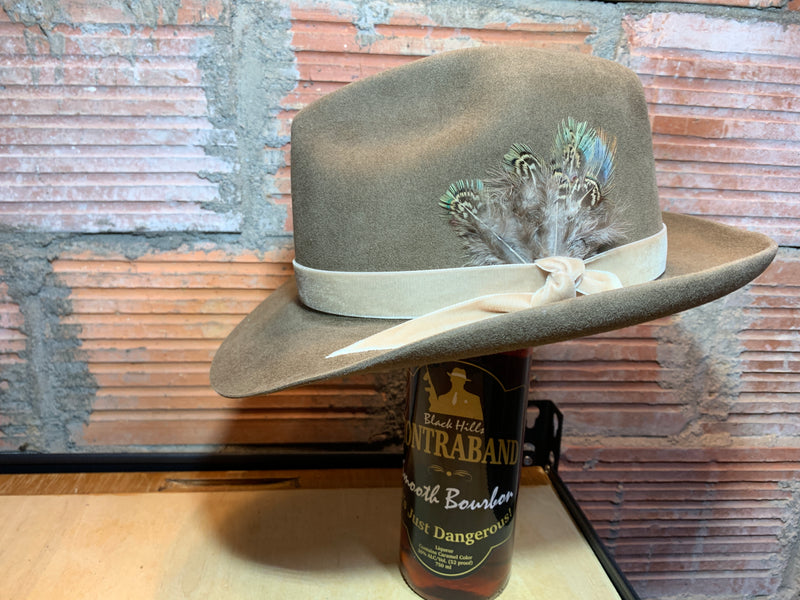 Black Hills 605 BB's Showtime Fedora Hat in Chinchilla