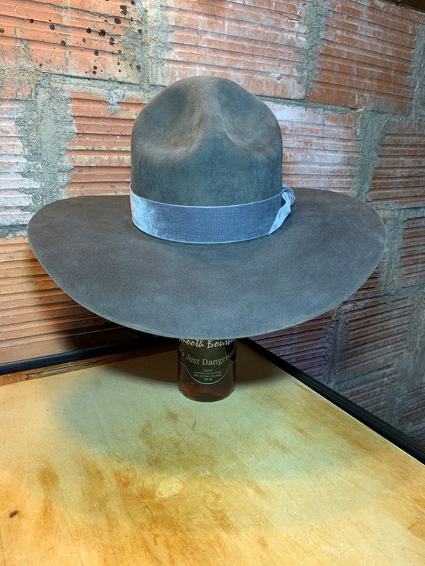 Black Hills 605 Slim Buttes Campaign Hat in Chinchilla