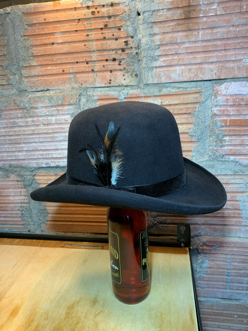 Black Hills 605 Hat Collection The Infamous Gem Chinchilla Bowler Hat