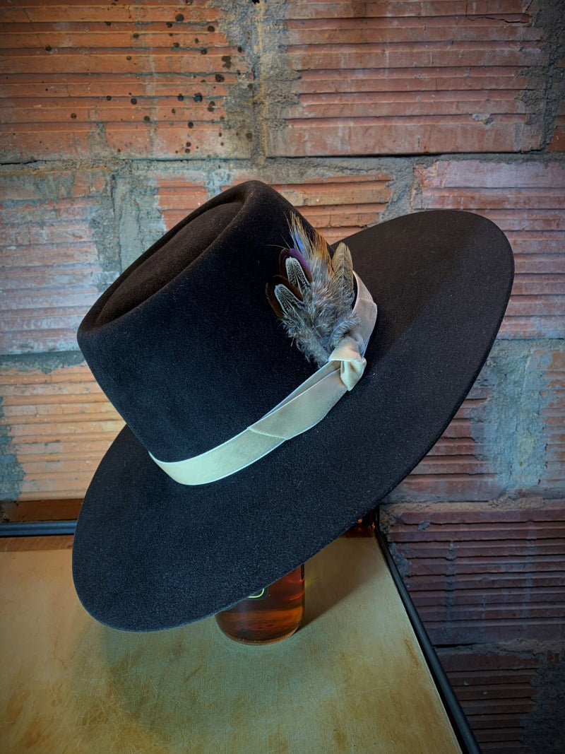 Black Hills 605 Double Trouble Gambler Hat in Chinchilla