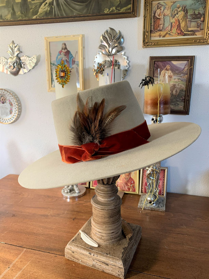 Black Hills 605 Be Legendary Bolero Handmade Hat in Belly Hair