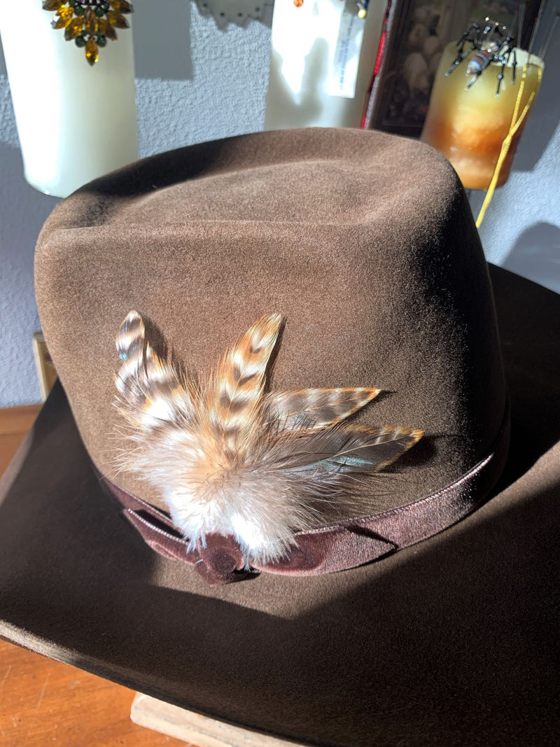 Black Hills 605 Ds' South Dakota Plains Hat in Belly Hair