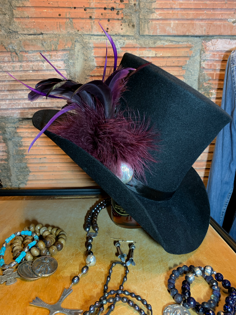 Top hats are the perfect accessory! Custom is cool!