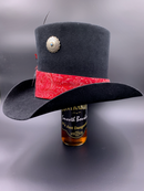 Just a little vintage on the handcrafted top hat!  Wearable art made in the USA!