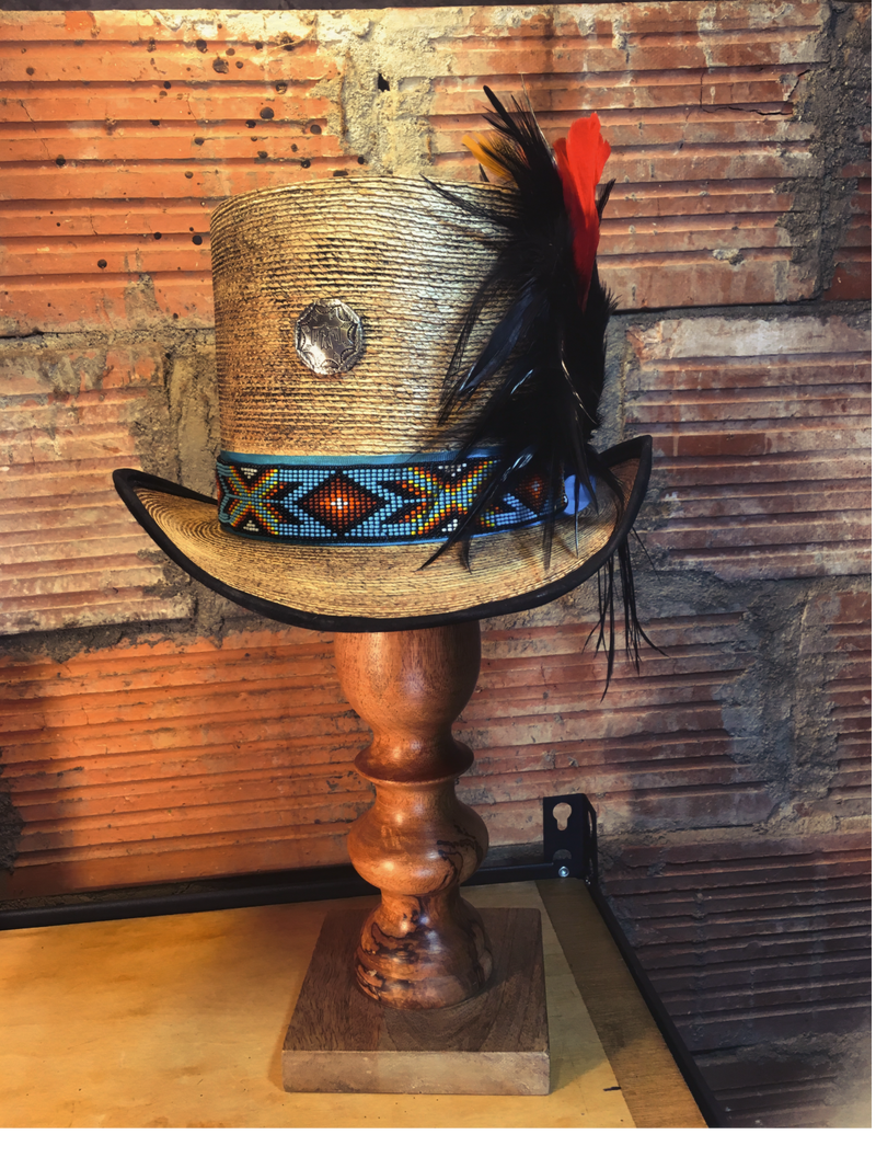 Mexican palm top hat, gotta have!
