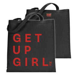 GET UP GIRL Tote Bag