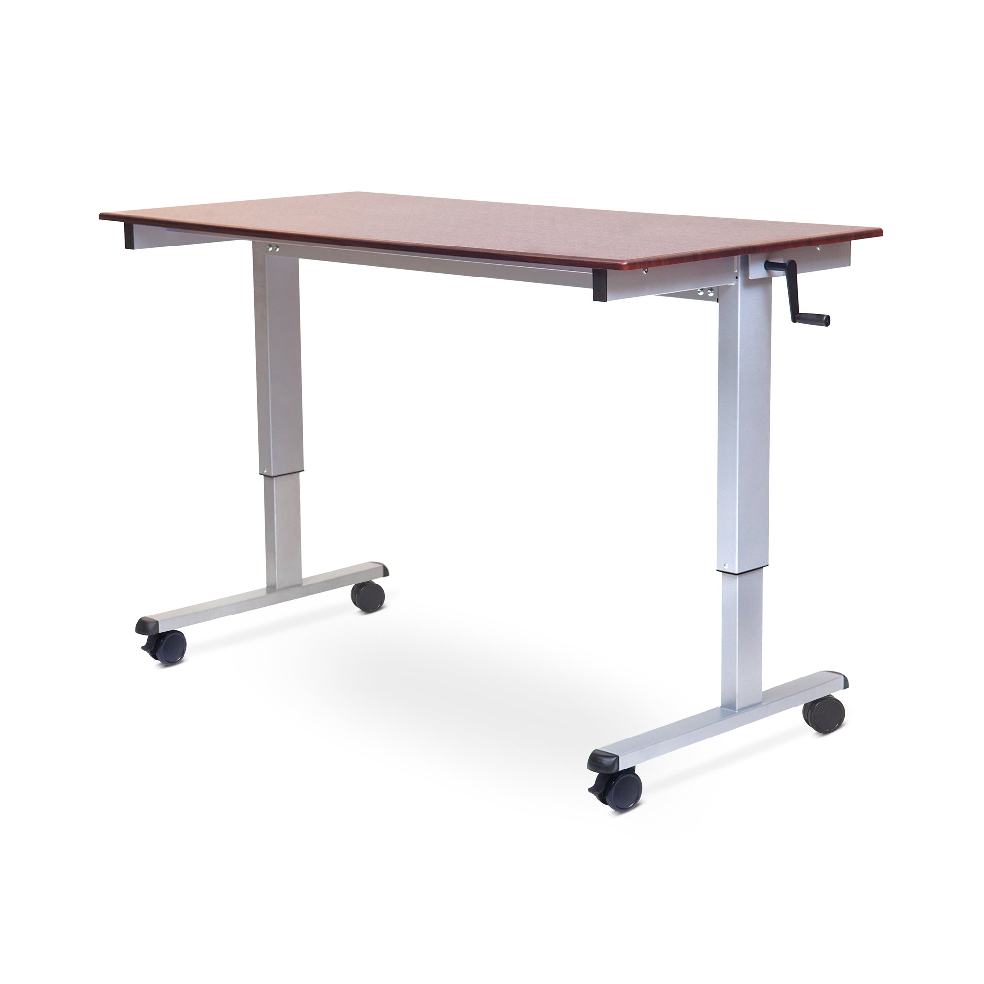cost of sale size raised for best adjustable rolling full fresh drawers work mobile at top standing platform ergo station furniture stand with extension office vivo workstation table up desk home height