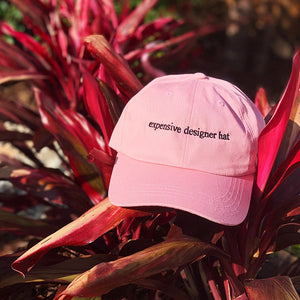 Expensive Designer Hat in Pink