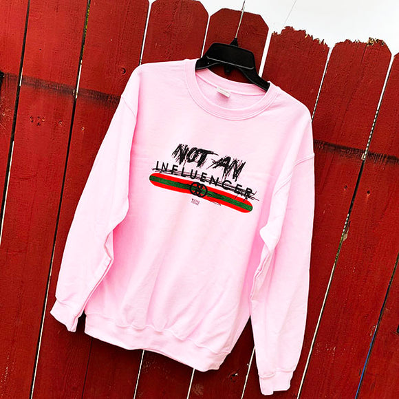 ~INFLUENCER~ Crewneck in Pink