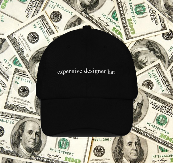 Expensive Designer Hat