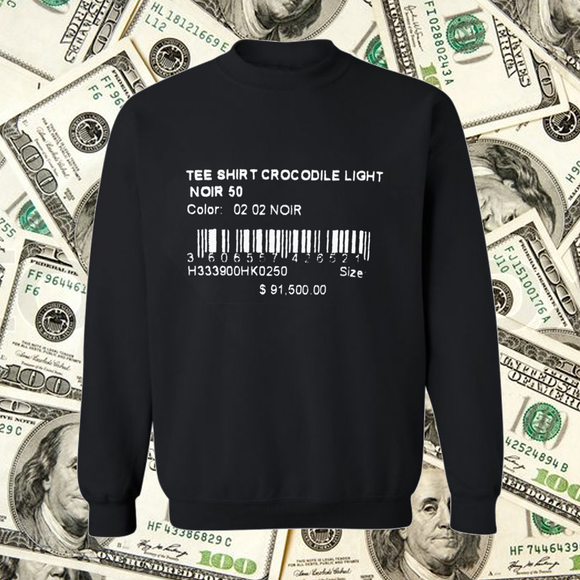 Price Tag Crewneck