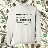 Price Tag Crewneck in White