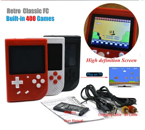 Gameboy 3.0 Inch with 400 Built in Games: 50% OFF Today!!!!