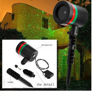 Waterproof Moving Laser Snow LED Light! 50 % off Today!!!