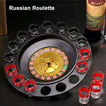 Shots Glass Roulette Drinking Game Set