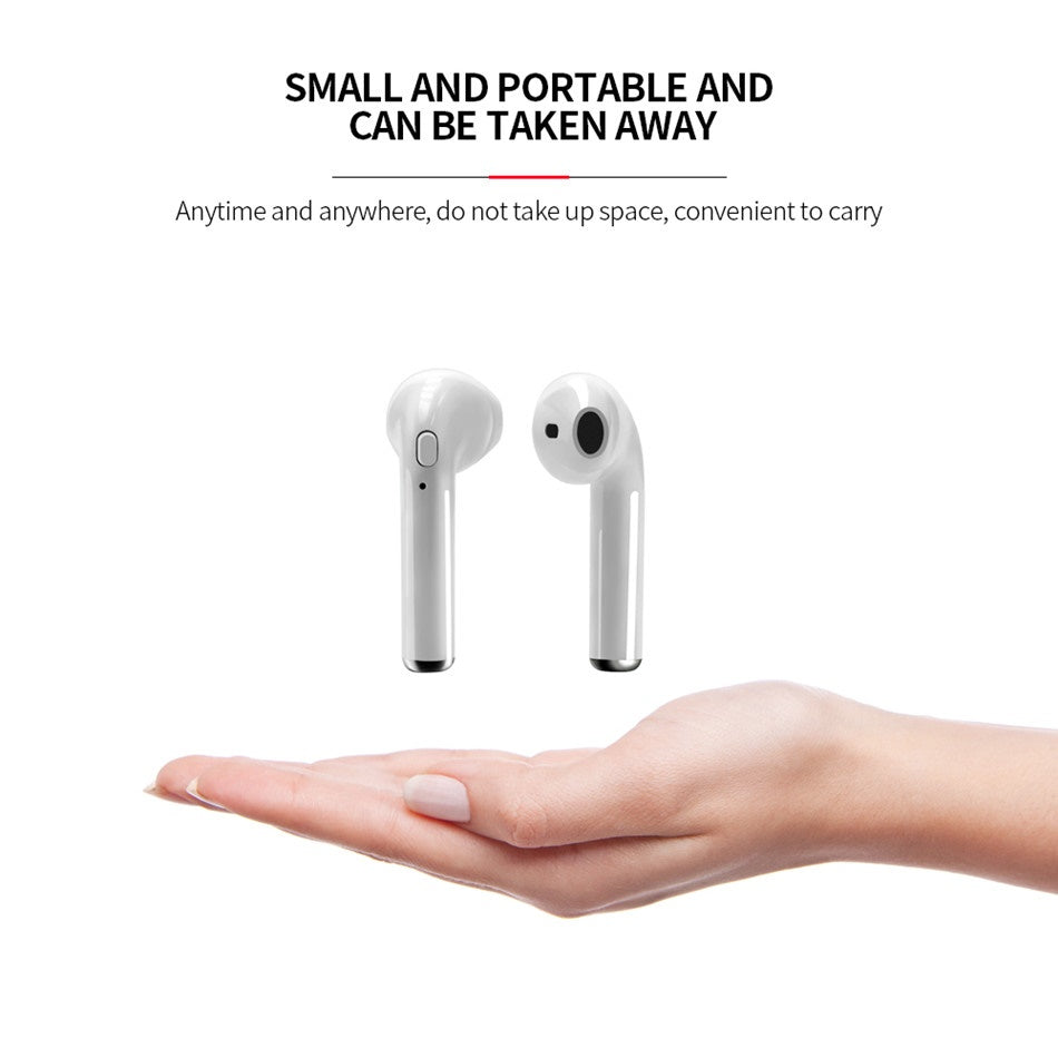 i7S TWS Wireless Bluetooth Earphone BUY 1, TAKE 1 FREE!!!