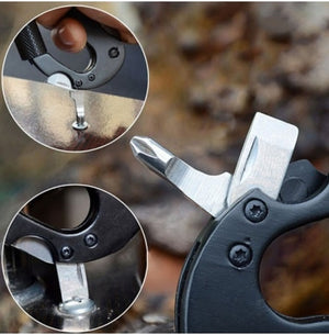 Pocket Carabiner Tool Kit & Key Chain!