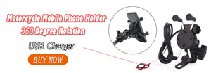 Motorcycle Mobile Phone Holder with USB Charger ! 50% off Today!