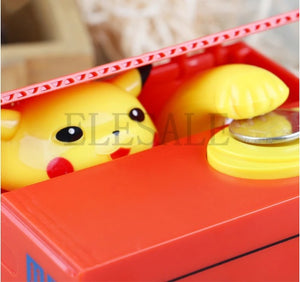 PIKACHU POKEMON-Music Coin Bank- 50 % OFF today!!!