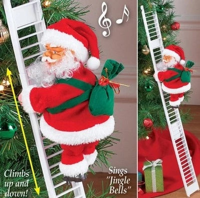 CLIMBING SANTA CLAUS! (CHRISTMAS PROMOTION) 50% OFF!