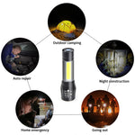 USB -PORTABLE LED FLASHLIGHT! Buy 1, take 1  FREE!!!!!