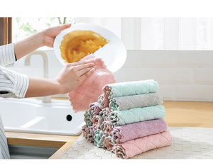 Non-Sticky Dish Oil Cloth- Buy 1, Take 1 FREE!!!!