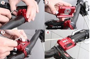 GUB Universal Bike-Motorcycle Cellphone Holder- Buy 1 take 1 Free