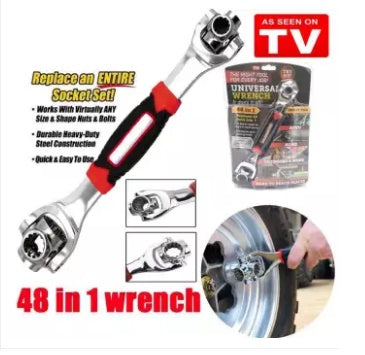 Tiger Multipurpose Wrench 48 In 1 Tools- 50 % OFF