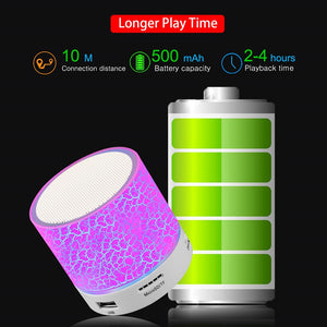 Mini Portable Bluetooth Speaker- 50 % Off Today !