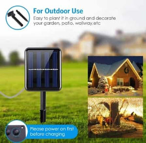 200 SOLAR POWERED X-MAS LIGHTS FOR GARDEN! 50% OFF TODAY!