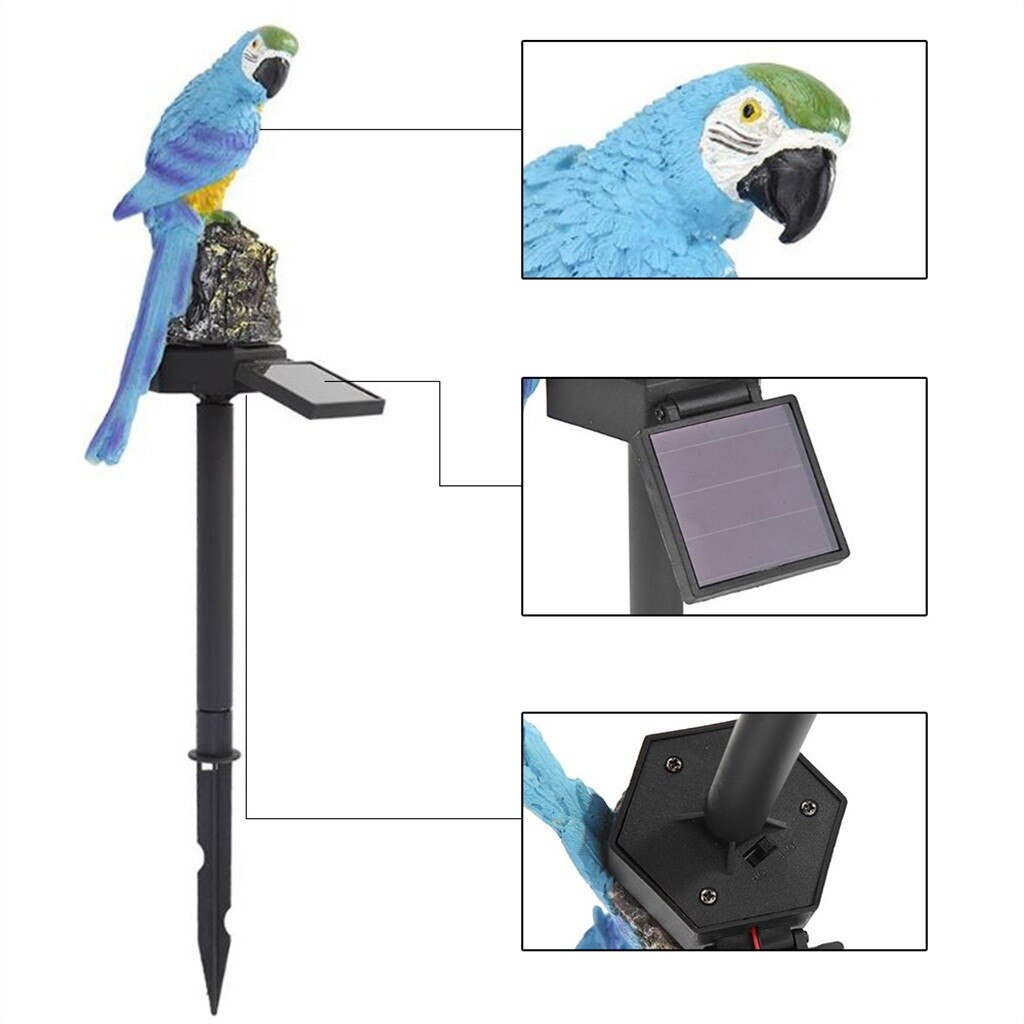 Parrot Solar Led Light- 50 % Off Today