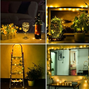 100 LED String Light Christmas Fairy Light with Remote Control! 50% off