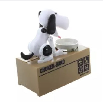 Robotic Puppy Coin Bank: 50 % off Today !!