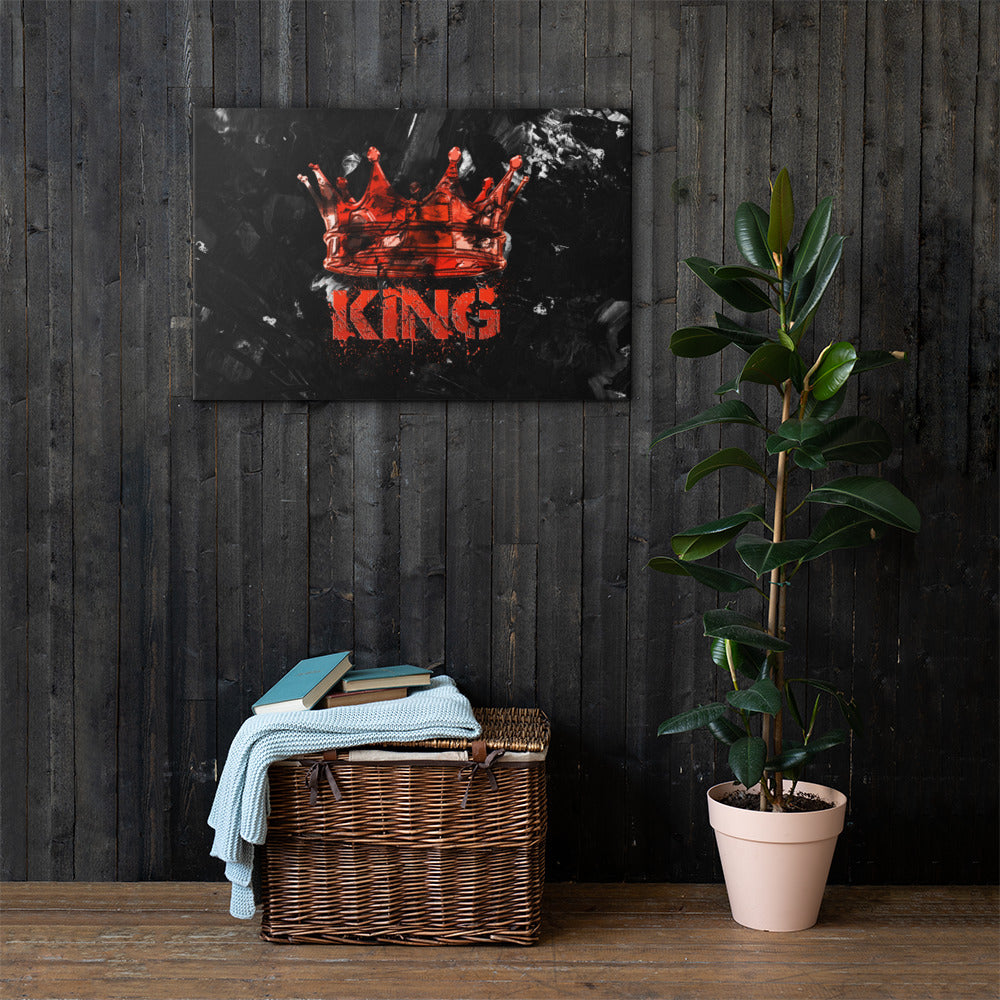 """Blood King"" Motivational Canvas - Michael Special (1-of-1)"