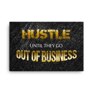 """Business"" Canvas Motivational Wall Art"