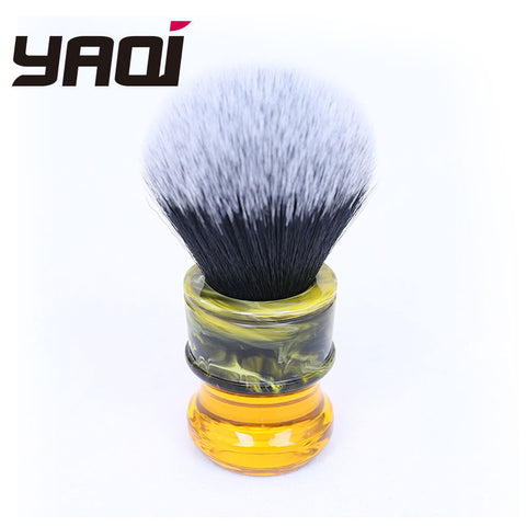 Tuxedo Resin Handle Shave Brush - Oddites